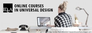 Online courses in universal design