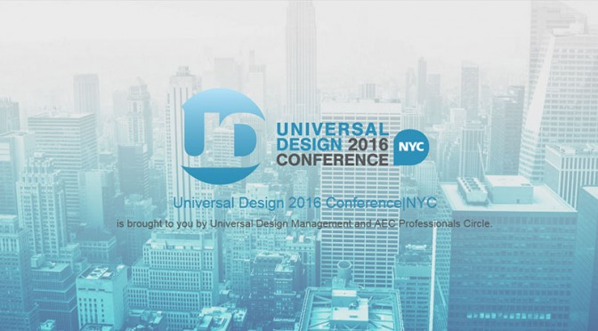 universal design 2016 conference banner