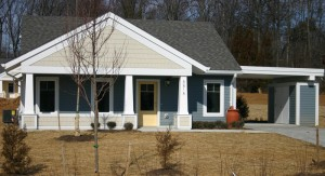 Front view of Cottage at GreenWood
