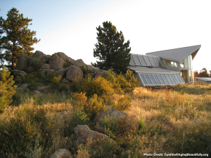 exterior view of green mountain ranch