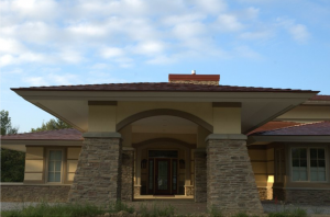 front view of universal living laboratory home