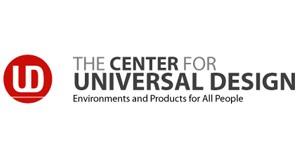 center for universal design (cud) logo