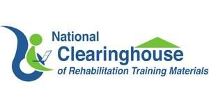 national clearinghouse of rehabilitation training materials logo