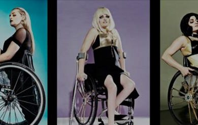 fashion models in wheelchairs