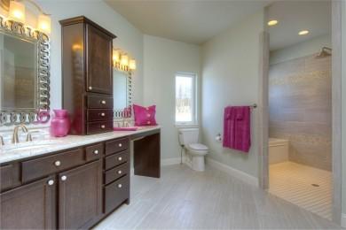 interior view of spacious bathroom