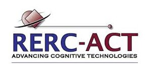 Rehabilitation Engineering Research Center for the Advancement of Cognitive Technologies (RERC-ACT) logo