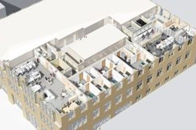 3d model of healthcare facility
