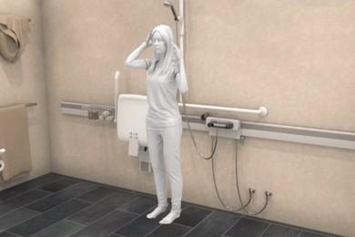 adjustable bathroom
