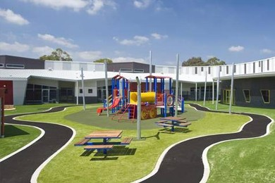 exterior view of playground at Australia's Northern School for Autism