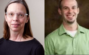 beth tauke and korydon smith from the university at buffalo school of architecture and planning