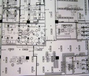 Floor plan drawing