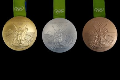 New Rio 2016 medals said to be the most sustainable prise awarded at an Olympics.Reuters